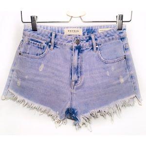 PACSUN   Size 25   Denim shorts